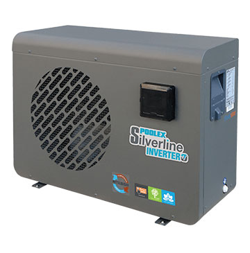Poolex Silverline Inverter 8kw pompe a chaleur piscine