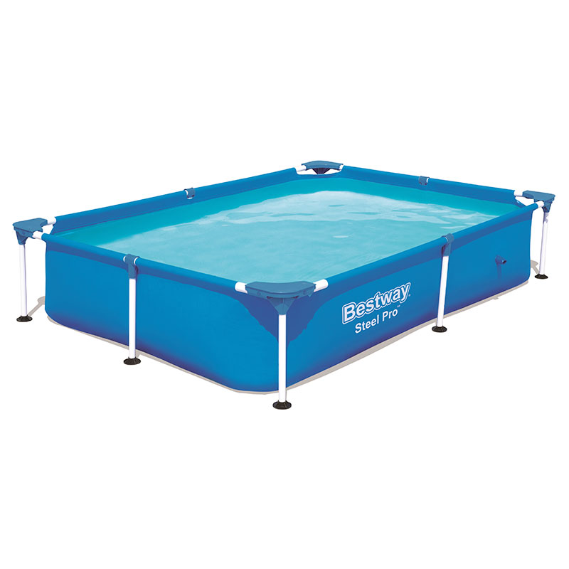 Piscine Bestway Rectangulaire Steel Pro 221 x 150 x 43 cm