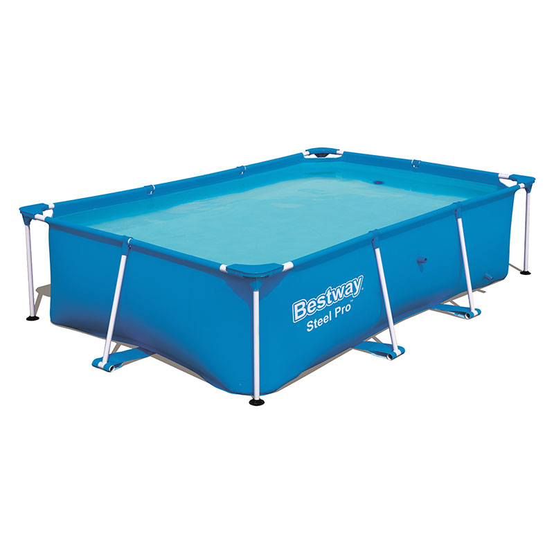 Piscine Bestway Rectangulaire Steel Pro 259 x 170 x 61 cm