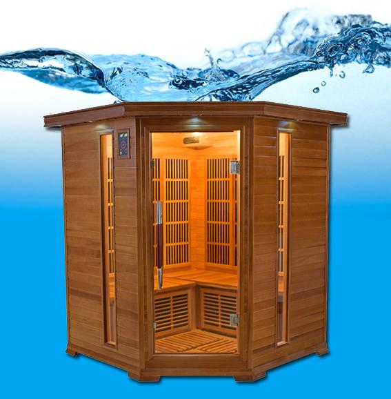 Luxe 3 4 places sauna infrarouge - Avis sauna infrarouge ...