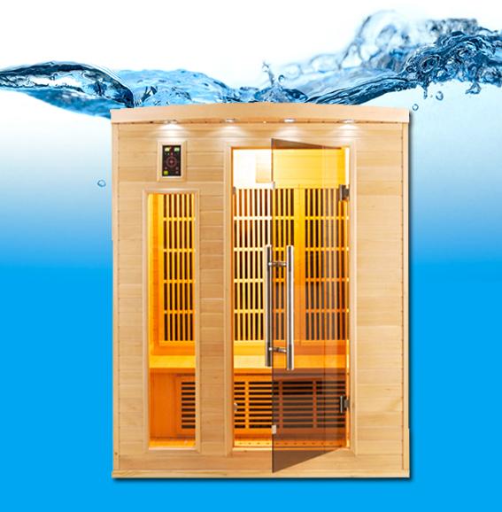 apollon 3 p infrarouge sauna. Black Bedroom Furniture Sets. Home Design Ideas