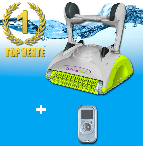 Robot piscine star plus for Dolphin robot piscine