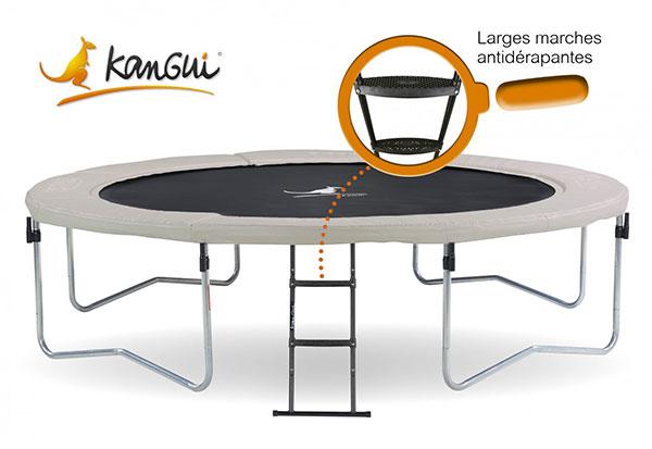 trampoline famili 430 avec chelle. Black Bedroom Furniture Sets. Home Design Ideas
