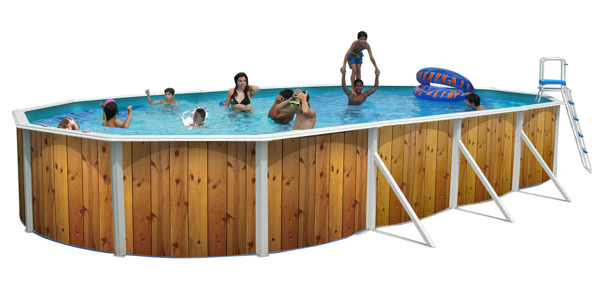 Piscine hors sol veta ovalada 730 x 366 cm x m for Piscine hors sol dimension