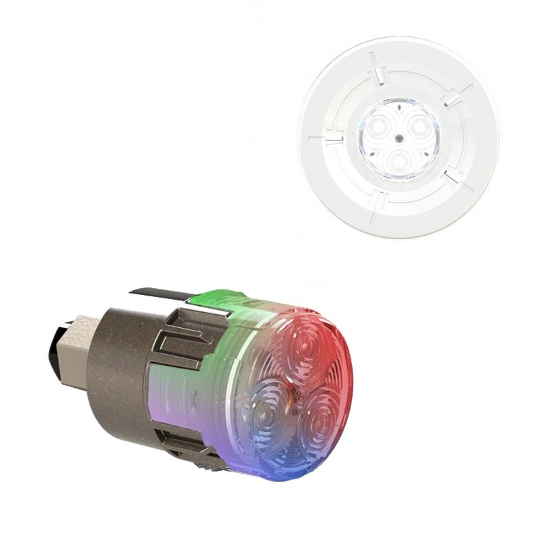 projecteur led couleur mini brio x15 avec enjoliveur mini chroma blanc. Black Bedroom Furniture Sets. Home Design Ideas