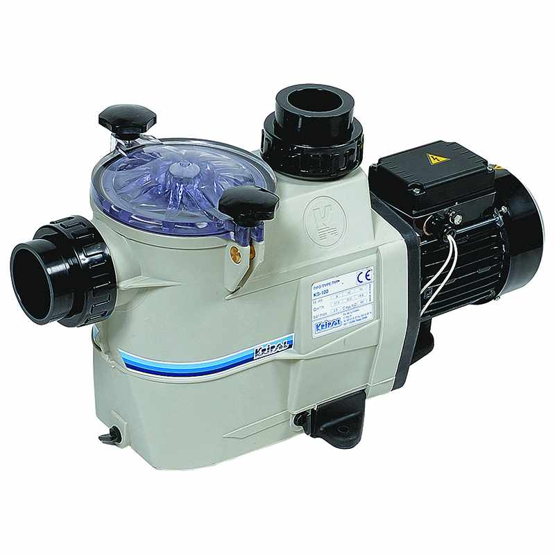 Pompe filtration piscine delfino ks 2 cv tri 25 m3 h for Pompe a piscine