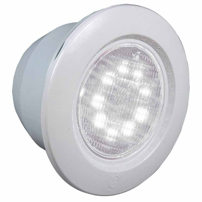 Projecteur led blanc 18w liner hayward crystalogic 3481 for Projecteur piscine liner