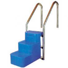 Escalier pour chien 3 marches - Escalier inox pour piscine ...