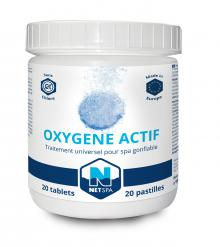 Traitement universel pour spa netspa for Oxygene actif piscine