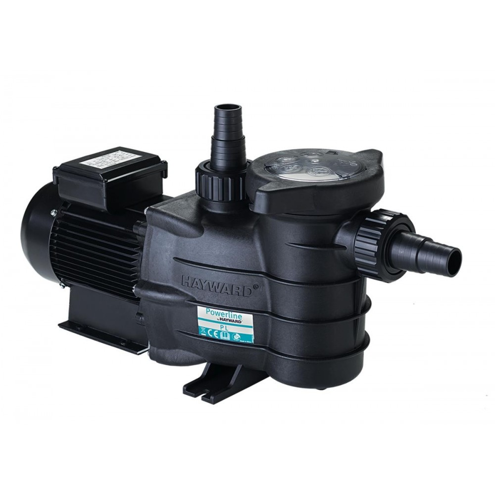 Pompe hayward powerline pl 0 33 cv mono 7 3 m3 h for Pompe piscine stp 35 mono