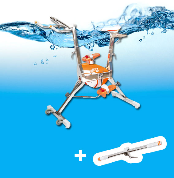 Velo pour piscine great velo aquabike pour spa de nage et for Velo piscine occasion